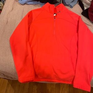 Women's Under Armour 1/4 zip-thick material